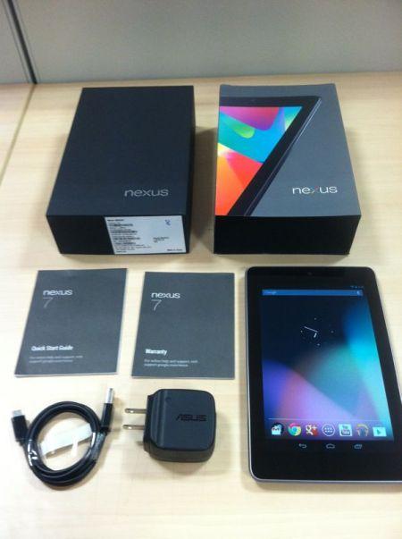 Paket Nexus 7