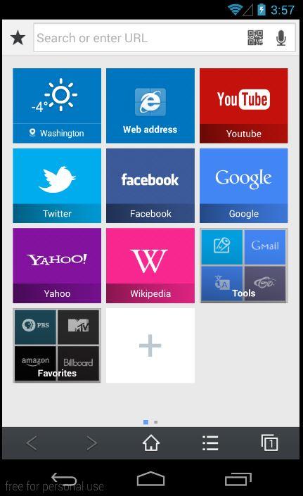 Halaman Utama Browser