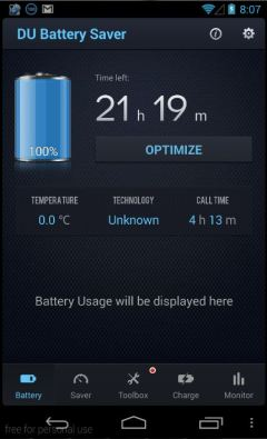 Aplikasi DU Battery Saver