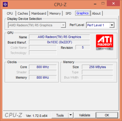 cpu z - graphics
